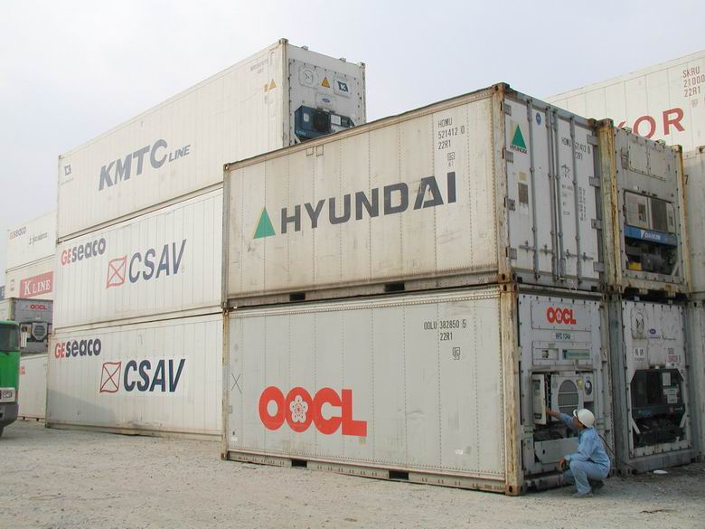 Container reefer, depot avtivities